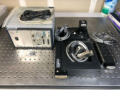 Motorized Xyzfocus Microscope Stage Filter Wheel Asi Lx-4000 Ms-2000 Ls-50 Fw