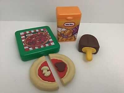 Little Tikes Pretend Play Food Ice Cream Pizza Mac N Cheese Vintage