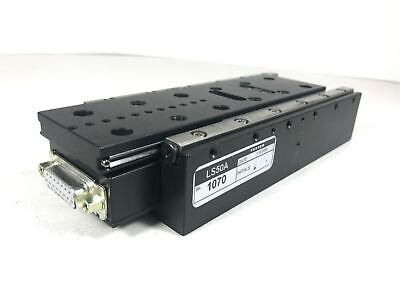 Asi Ls-50a Motorized Microscope Linear Stage Zfocus Axis Fine Pitch - Tested