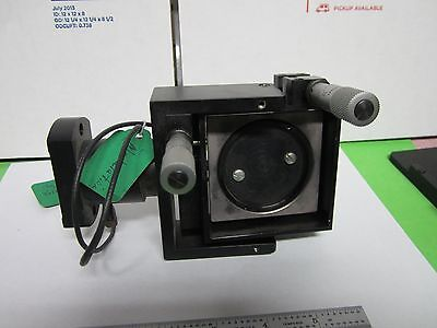 Optical Modulator High Voltage Mirror Mount Laser Optics As Is Binq3-31