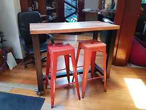 Vintage industrial kitchen island bench table St Kilda West Port Phillip Preview