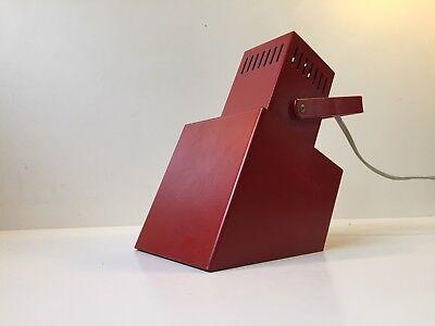 Vtg 70s Modernist Adjustable Wall Lamp danish Space Age Louis Poulsen AJ PH era