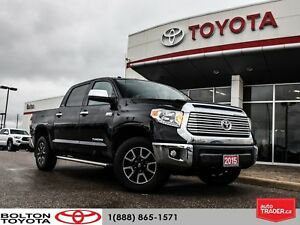 2015 Toyota Tundra LIMITED|ACCIDENT FREE|ONE OWNER
