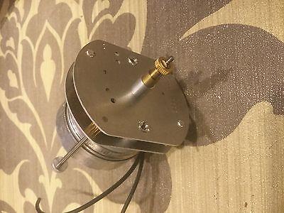 synchron motor vintage clock D4 back set advertizing neon lackner dualite  new