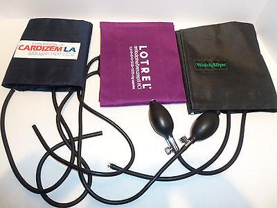Lot Pharmaceutical Advertising Sphygmomanometers Blood Pressure Cuffs Welchallyn