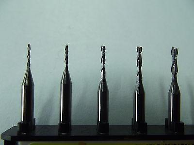 5 VHM  2-Schneider + Fräser + 3,0 mm + Modellbau + Dremel + Proxxon + CNC
