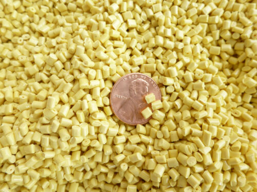 16 LBs  Yellow  Poly Plastic pellets Bean bag, Weighted Blanket