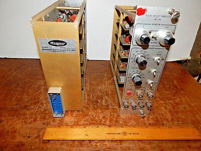 Hamner Electronics Nc-14 Pulse Height Analyzer Nim Bin Module