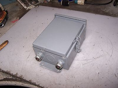 Wiegmann Steel Wall Mount Enclosure Type 3r Raintight 6x8x4