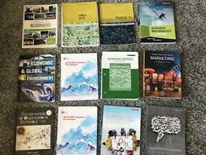 NSCC Business Administration 1st Year Textbooks