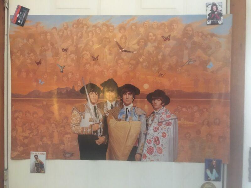 """The Beatles """"Matador"""" Poster  Collage"""