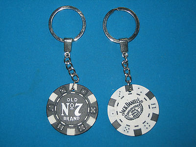 TWO JACK DANIELS.QUALITY KEY RINGS