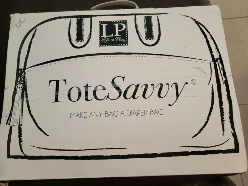 ToteSavvy Original Diaper Bag Organizer, Gray New