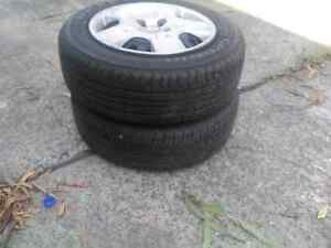 2. Set of Toyota Corolla Tyre With Rims 195/65 R15 Pallara Brisbane South West Preview