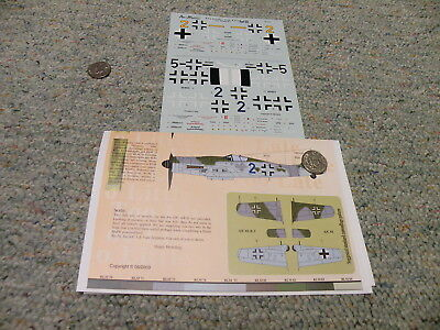 Aeromaster decals 1/48 48-638 Too Little Too Late FW 190D-9 Part 1II F146