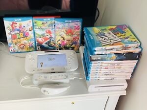 Wii U system with games