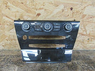 04 05 06 07 BMW 645ci 650i A/C HEATER CLIMATE CONTROL UNIT PANEL TRIM OEM LOT231