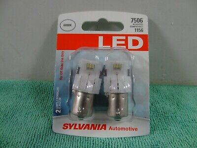 NEW Sylvania LED light Bulb 7506 Cool White 6000K Also Fits-1156