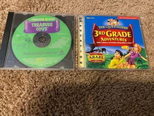 Clue Finders: 3rd Grade Adventures + Treasure Cove  PC/MAC Computer Games!