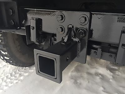 "M998 M1038 HMMWV MILITARY HUMVEE 2"" RECEIVER HITCH TRAILER HITCH MILITARY JEEP"