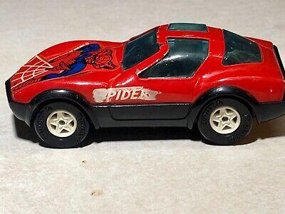 Vintage 1980 Spider-man Spider Car Buddy L Toy Pressed Steel Japan Used V Good