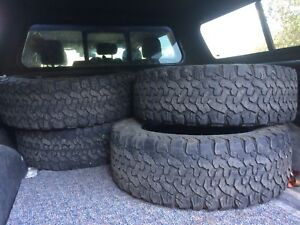 4 TIRES. 285/65/20 FOR SALE