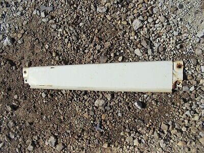 International 656 Rc Tractor Ihc White Left Rear Side Hood Tank Panel