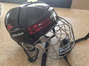 Casque hockey bauer