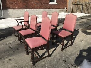 FREE! Six dining chairs.