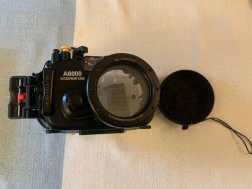 Sea Frogs 130ft/40m Underwater Camera Housing Waterproof Case for Sony A6000