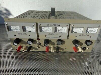 Lambda Lpt-7202-fm Regulated Triple Output Power Supply