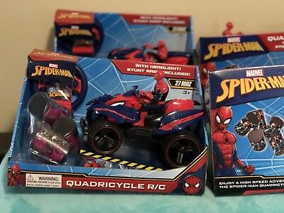 Spider-Man Quadricycle Quad Car Remote Control R/C for sale  Shipping to Canada