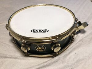 Snare caisse claire DW PRE-Collector 13x4 gold plated Note en #F