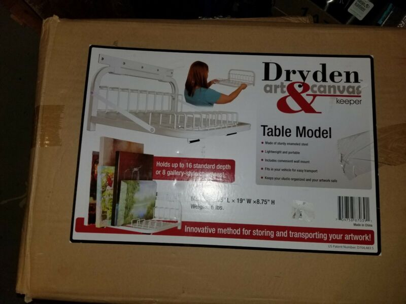 NEW Dryden Art & Canvas Keeper -Small Table Model & Wall Mount 15 x 19 x 8.75 in