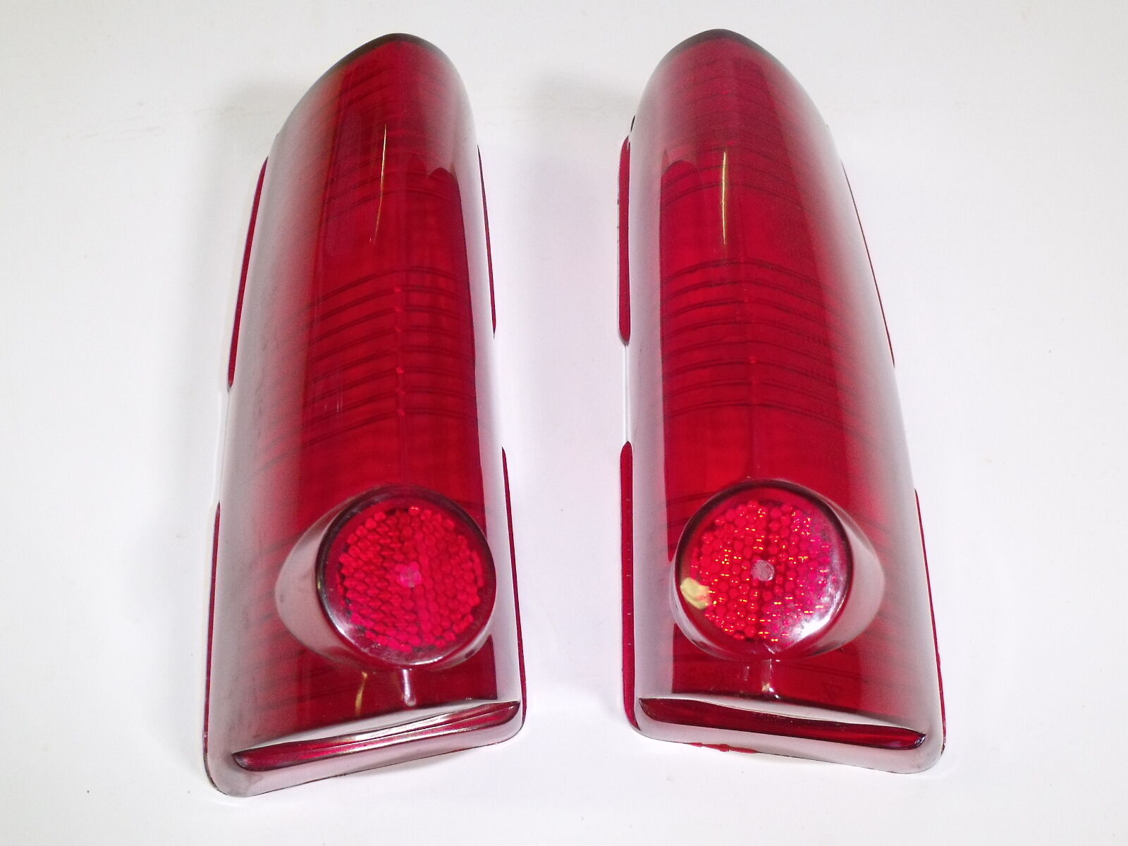 **PAIR** STOP & TAIL LAMP LENSES 1963 PONTIAC CATALINA,STAR CHIEF,BONNEVILLE L/R