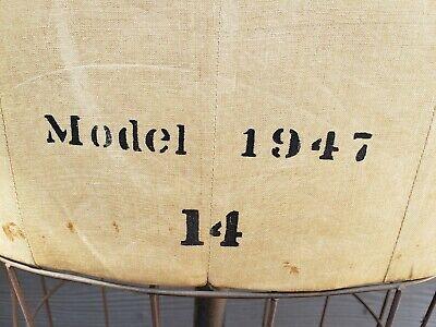 DRESS FORM Mannequin Industrial Cage Cast Iron Base Vintage Antique Model 1947 !