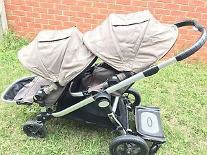 Baby Jogger City Select Double + Bassinet + Glider Board +++ Berwick Casey Area Preview