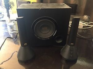 Altec lansing pc speakers just need aux cable 60$