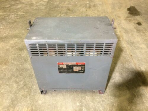 Federal Pacific Electrical 15 KVA Dry Type Transformer, 480 H.V. - 208Y/120 L.V.