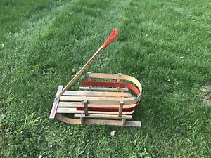2 sleds for sale, Baby sleds, toboggan