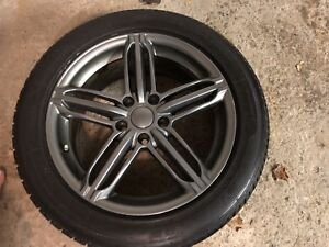 Audi A4 S-Line 2011 Winter Tires and Rims x 4