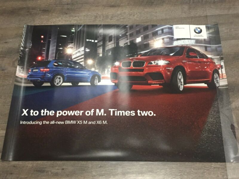 BMW X5 M & X6 M - X to the power of M Times two - BMW Manufacturing Poster