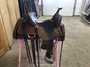 Kids Irvine Cutting Saddle