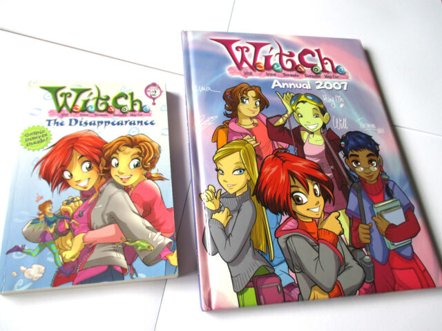 WITCH bulk lot x 2 THE DISAPPEARANCE sc + ANNUAL 2007 large HC