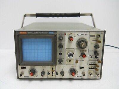 Hitachi Oscilloscope V-650f 60mhz