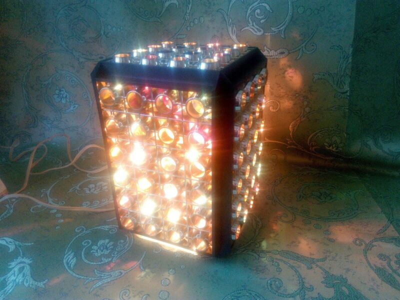 Vintage Disco Lamp Rotating Lamp USSR 70s. Decor Rums