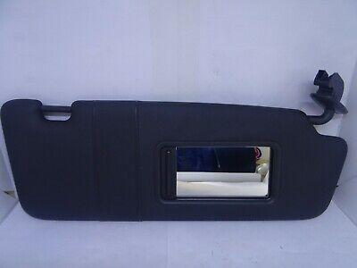 *AUDI A3 MK2 8P 2004-2013 BLACK DRIVER RIGHT SUN VISOR WITH LOOM 8P0857552
