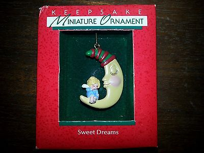 "Hallmark Miniature 1988   ""SWEET DREAMS""       ***NEW***"
