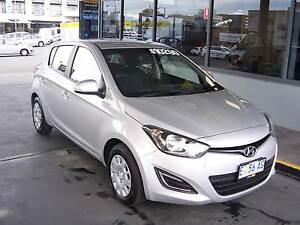 2014 Automatic Hyundai i20 - Silver Hatchback Hobart CBD Hobart City Preview