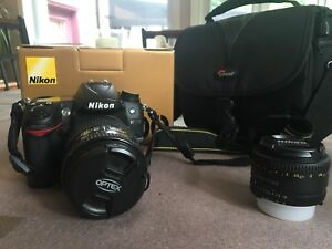 Nikon D7000 + 2 lenses  Price Negotiable